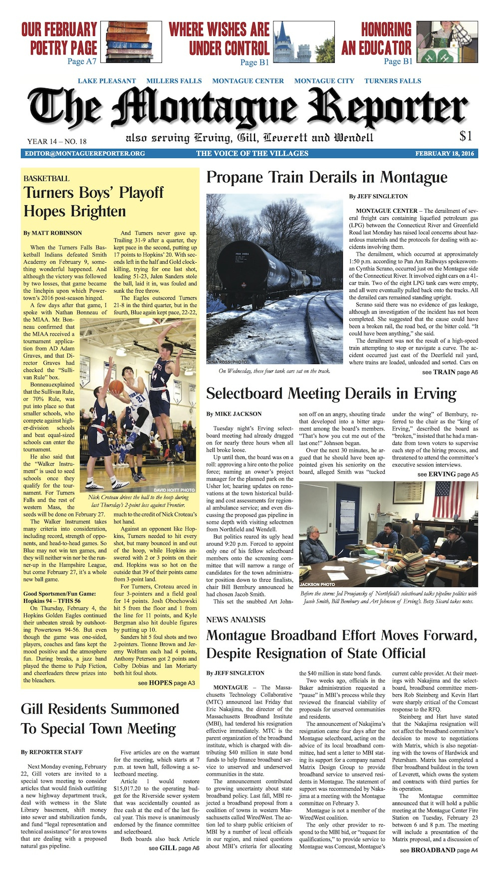 Page A1, 2/18/16