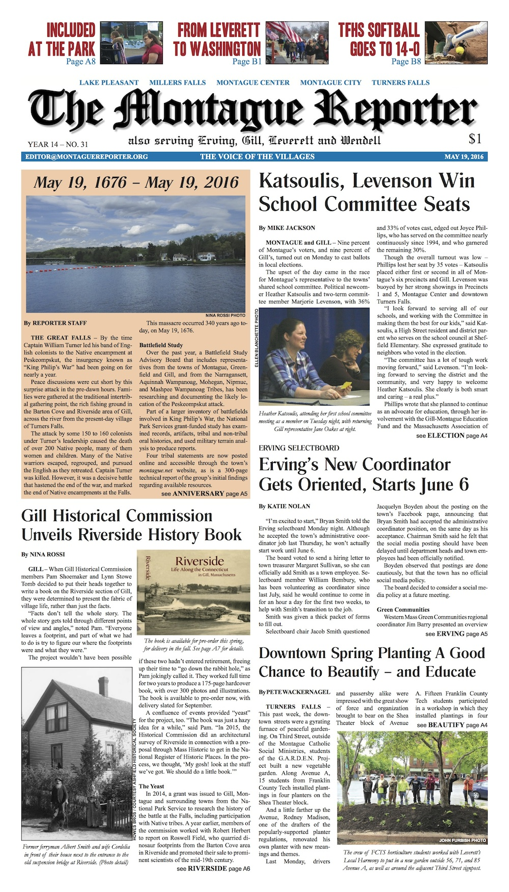 Page A1, 5/19/16