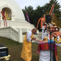 Peace Pagoda Marks 33rd Anniverssary