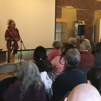 Wampanoag Speaker Criticizes Federal Decision at Discovery Center Event